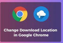 mengubah lokasi download di chrome