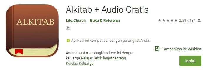 Cara Mendengarkan Alkitab Offline dengan Bible