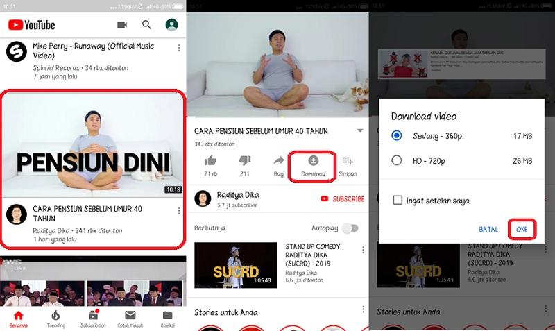 Download Video di Youtube Secara Offline di Android