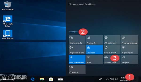 Cara Cepat Screenshot di Windows 10
