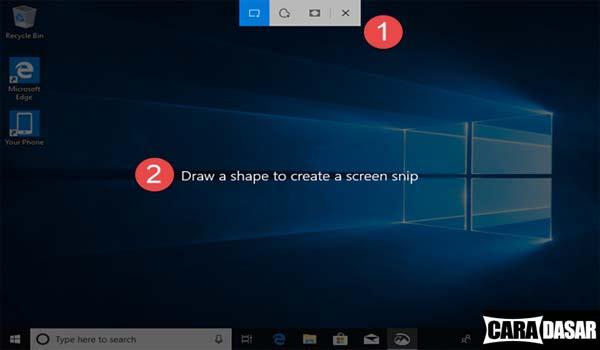 Cara Screenshot di Windows 10