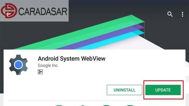 Pengertian dan Fungsi Android System Webview