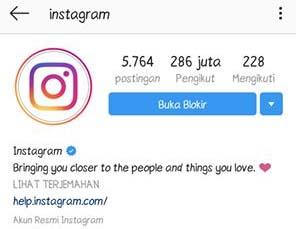 Cara Membuka Blokir di Instagram