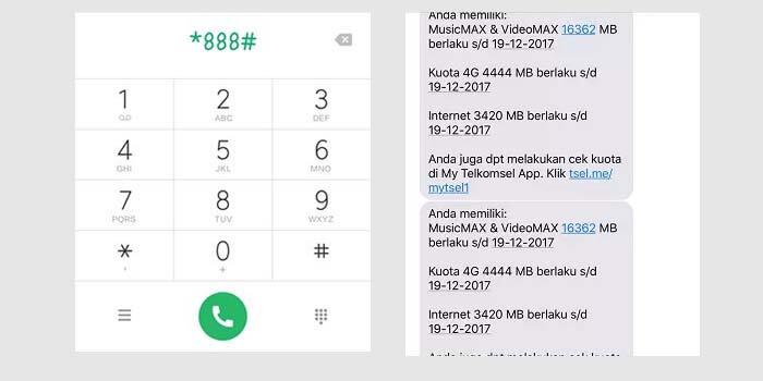 Cara Cek Kuota Telkomsel Simpati via Dial Telepon