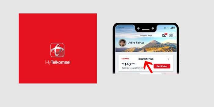 Cara Cek Nomor Telkomsel di Aplikasi MyTelkomsel