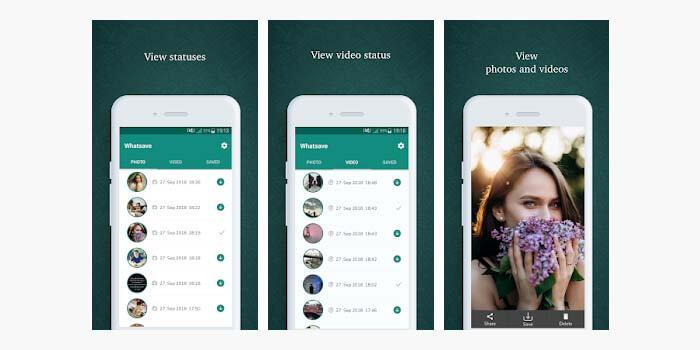 cara menyimpan status story video whatsapp